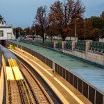 Umbau U4-Station Pilgramgasse