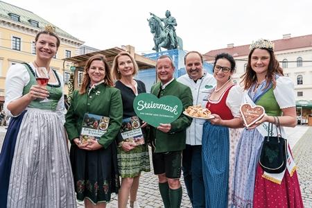 Genussmarkt Steiermark in München eröffnet